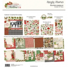 "ЗАКУПКА Набор ""Simple Vintage Christmas Collector's Essential Kit""  от Simple Stories"