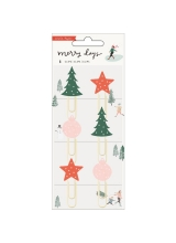 "Набор скрепок ""Merry Days Decorative Clips"" от Crate Paper"
