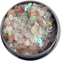 "Пайетки ""28 Lilac Lane Tin - Fairy Sparkle"" от Buttons Galore"