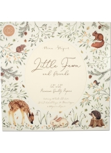 "Набор бумаги Little ""Fawn & Friends"" от Craft Consortium"