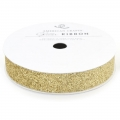 "Лента ""Solid Glitter Ribbon-Gold"" от American Crafts"