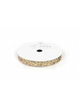"Лента ""Ribbon - Large Glitter - Solid Gold 3/8"" от American Crafts"