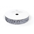 "Лента ""Solid Large Glitter Ribbon-Slate 5/8"" от American Crafts"