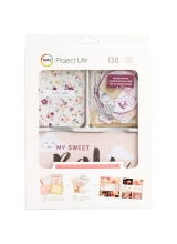 "Набор карточек и украшений ""Value Kit Little You Girls"" для Project Life"