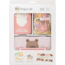 "Набор карточек и украшений ""Value Kit Lullaby Girl"" для Project Life"