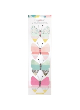"Набор высечек ""Chasing Dreams Fringed Paper Butterflies"" от Crate Paper"