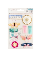 "Набор высечек ""Maggie Holmes Flourish Standouts Layered Stickers"" от Crate Paper"