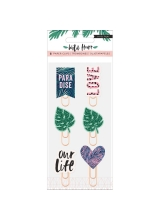 "Набор скрепок ""Wild Heart Decorative Clips"" от Crate Paper"