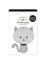 "3d стикер ""Doodle-Pops 3D Stickers-Stormy"" от Doodlebug"