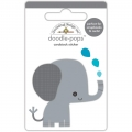 "3d стикер ""Doodle-Pops 3D Stickers-At The Zoo Eddie Elephant"" от Doodlebug"