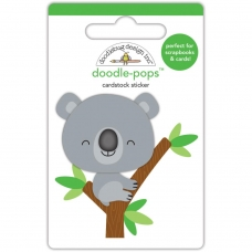 "3d стикер ""Doodle-Pops 3D Stickers-At The Zoo KC Koala"" от Doodlebug"