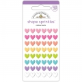 "Набор дотс ""Glossy Enamel Shapes-Fairy Tales Rainbow Hearts"" от Doodlebug"