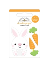 3D стикер Doodlebug Doodle-Pops -Baby Bunny