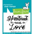 Набор штампов «Made With Love» от LawnFawn