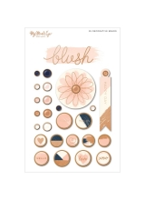 "Набор брадс ""Blush Decorative Brads "" от MME"