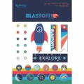 "Набор брадс ""Blastoff Decorative Brads "" от MME"