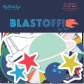 "Набор высечек ""Blastoff Mixed Bag Cardstock Die-Cuts"" от MME"