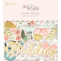"Набор высечек ""Bliss Mixed Bag Cardstock Die-Cuts"" от MME"