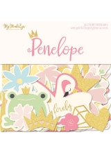 "Набор высечек ""Penelope Mixed Bag Cardstock Die-Cuts"" от MME"