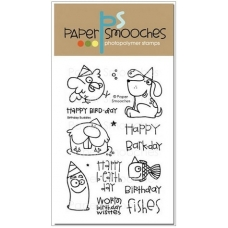 Набор штампов «Birthday Buddies» от Paper Smooches