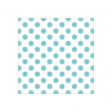 "Ацетатный лист ""Hello Baby Acetate - Blue Foil Dots"" от Paper House"