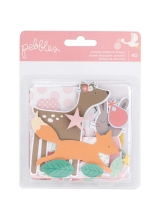 "Набор высечек ""Lullaby Cardstock Die-Cuts-Baby Girl"" от Pebbles"