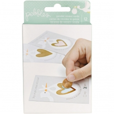"Набор карточек ""Lullaby Baby Gender Reveal Party Scratch-Off Cards"" от Pebbles"