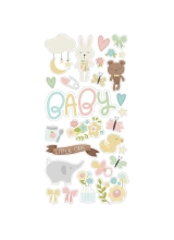 """Набор чипборда """"Oh Baby! Chipboard Stickers"""" от Simple Stories"""
