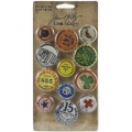 Металлические украшения dea-Ology Metal Adornments 12/Pkg by Tim Holtz