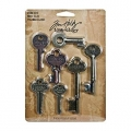Ключики Metal Word Keys by Tim Holtz Idea-ology 7 шт