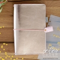 "Мягкий блокнот ""Travelers' Planner - Platinum Rose"" от Webster's Pages"